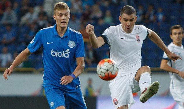 Артем Довбик (слева), fcdnipro.ua