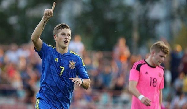 Автор первого гола - Андрей Близниченко, ffu.org.ua