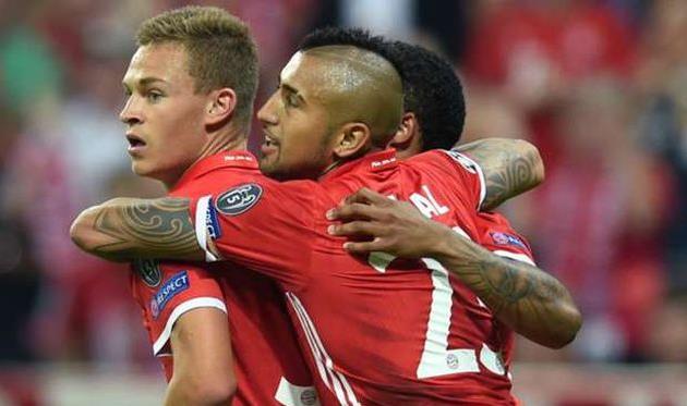 «Бавария» громит «Ростов» вматче 1-го тура группового этапа Лиги Чемпионов