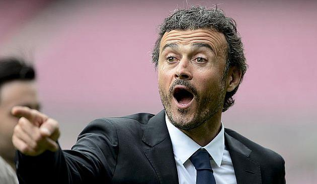 """Луис Энрике: «Футболисты """"Барселоны"""" веселились наполе»"""