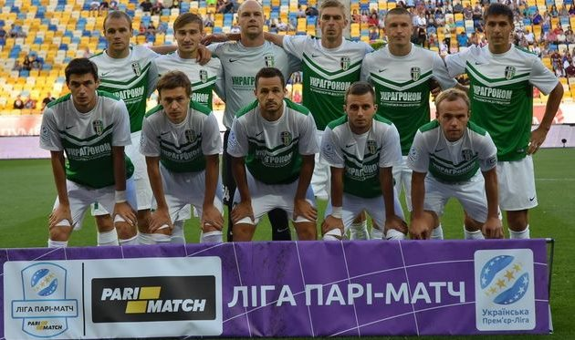 «Александрия» врезультативной игре победила «Карпаты»