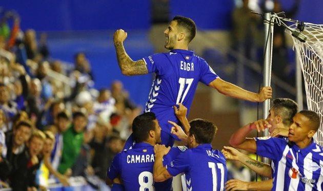 Испания, 6-й тур. Алавес— Гранада 3:1. 2-ой гол Кравца вПримере