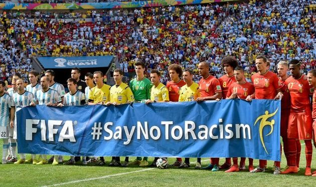 Say no to racism?