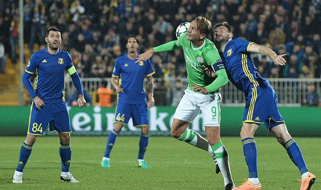Российская Федерация увеличила отрыв отПортугалии втаблице коэффициентов УЕФА