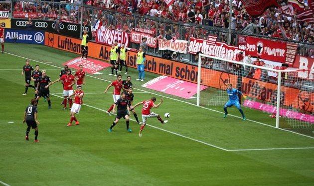 Германия, 6-й тур. Бавария— Кельн 1:1. Первая осечка мюнхенцев