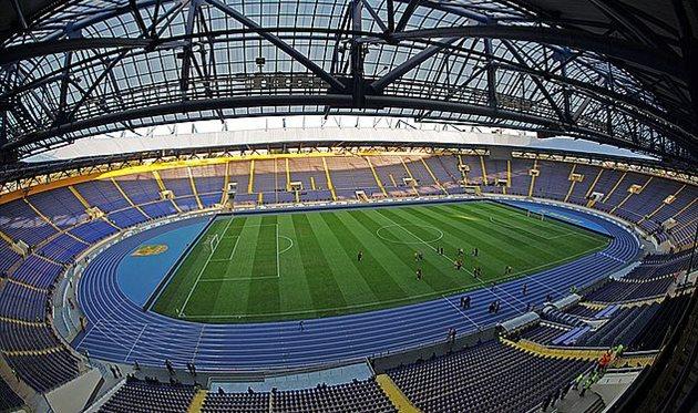 УЕФА позволил играть международные матчи вХарькове