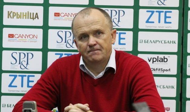 Главный тренер «Крумкачоў