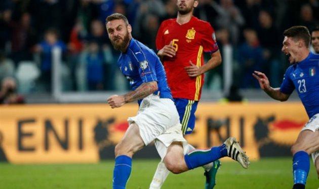 Италия сыграла вничью сИспанией 1:1 вматче отборочного турнираЧМ