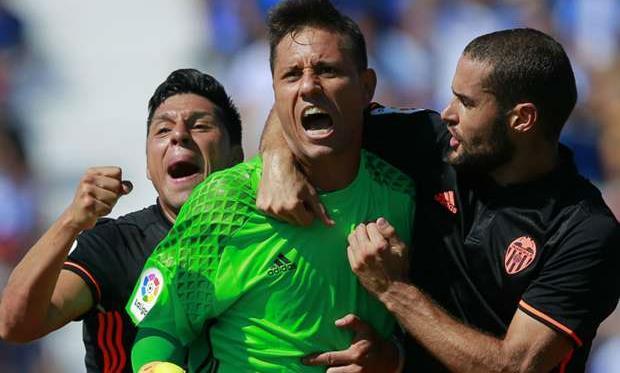 Диего Алвес: мне хотелосьбы продлить договор с«Валенсией».