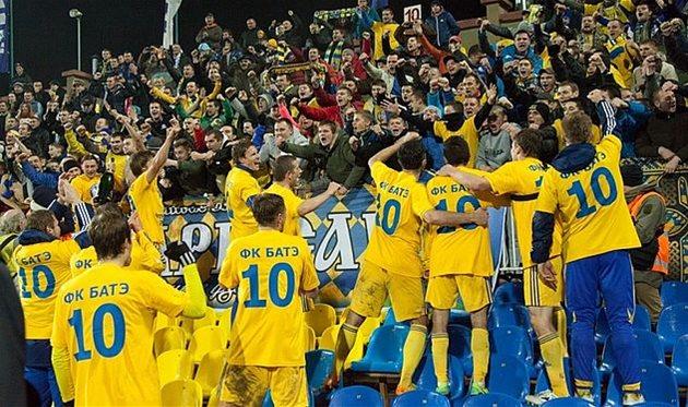 БАТЭ в тринадцатый раз стал чемпионом Республики Беларусь