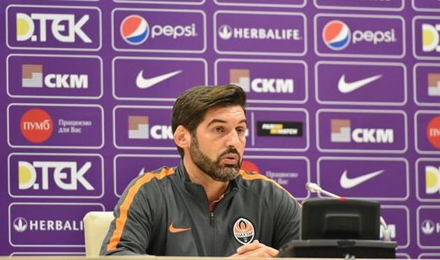 Пауло Фонсека - главный тренер Шахтера