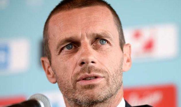 Президент УЕФА: «Унас хорошие отношения сфедерацией футбола Украины»