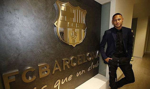 Неймар подписал новый договор с«Барселоной»