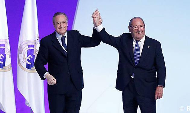 ФЛорентино Перес и Пако Хенто, фото фк реал