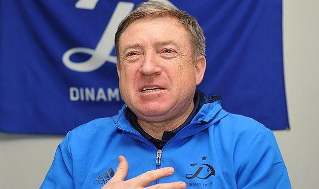 Вячеслав Грозный— главный тренер тбилисского Динамо