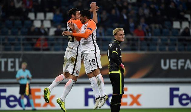 Адурис стал первым игроком, забившим пять голов водном матче Лиги Европы