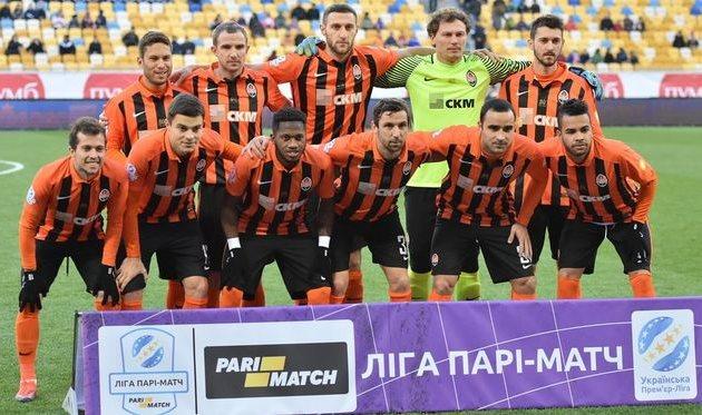 Футболисты «Шахтера» повторили рекорды клуба ичемпионата государства Украины