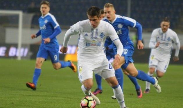 «Динамо» выиграло у«Днепра» всотом матче между ними