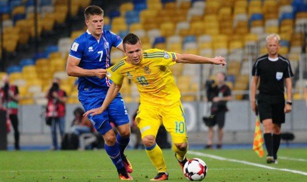 Украина выиграла уФинляндии срезультатом 1:0
