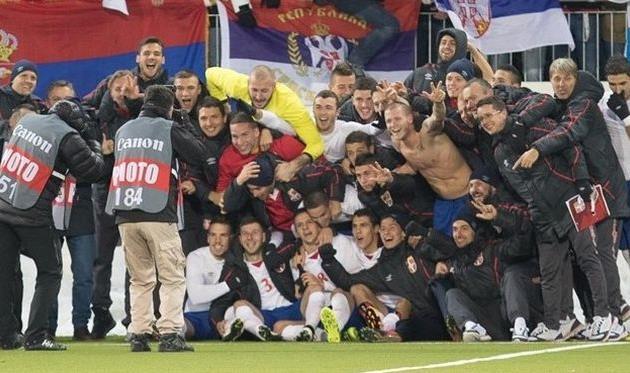 Радость сербской молодежки, uefa.com