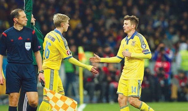 Ротань догнал Шовковского поколичеству матчей засборную государства Украины