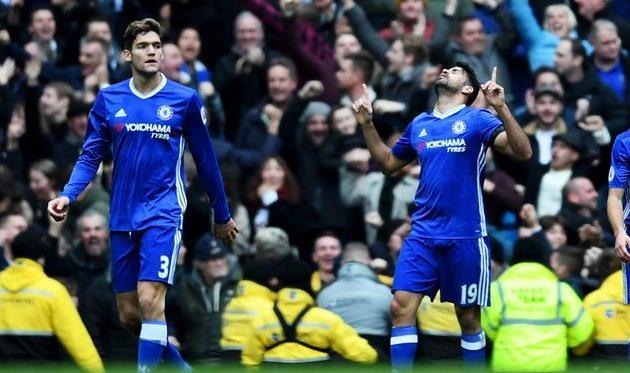 «Челси» укрепил лидерство, одержав волевую победу над «Манчестер Сити». Матч закончился потасовкой