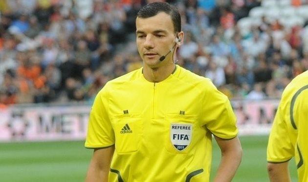 Украинским арбитрам доверили матч Лиги Европы УЕФА