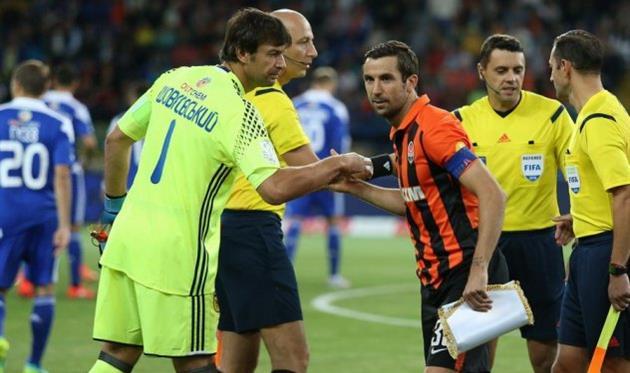 Жестокая драка футболистов наматче чемпионата Украины попала навидео