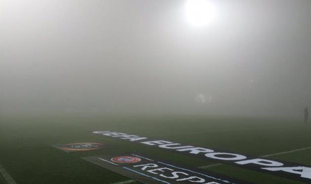 МатчЛЕ Сассуоло— Генк перенесен назавтра из-за тумана