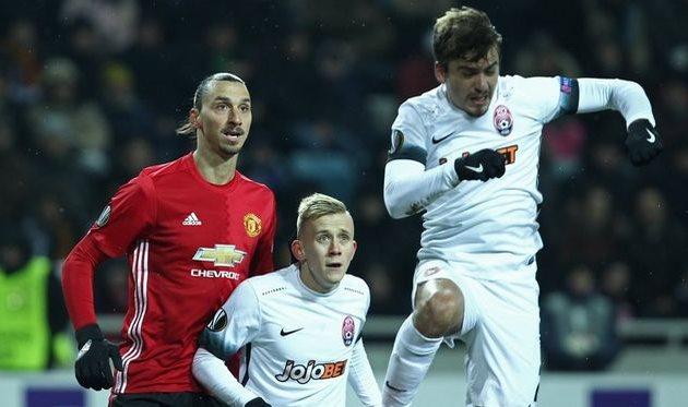 Заря - Манчестер Юнайтед