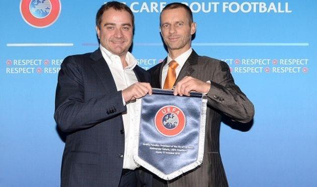 УЕФА одобрил проведение в Харькове международных матчей