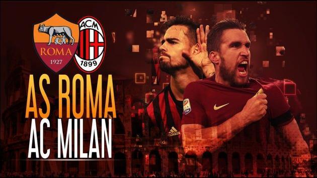 Чемпионат Италии пофутболу: игроки «Ромы» победили «Милан» изаняли 2-ое место