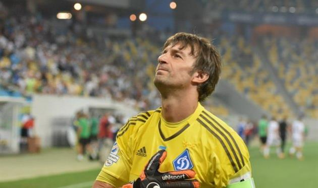 Ребров: Шовковский завершил карьеру футболиста