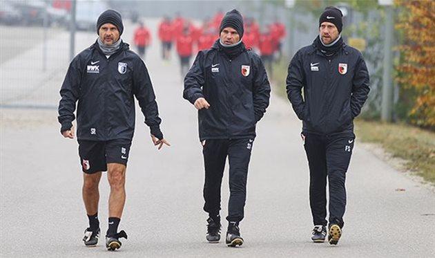 Главный тренер «Аугсбурга» был отправлен вотставку