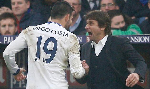 Гол Косты принес «Челси» победу над «Кристал Пэлас» вматче чемпионата Британии