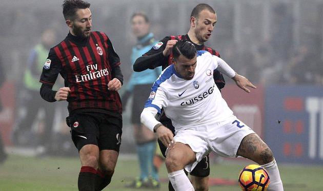 Милан не смог обыграть Аталанту