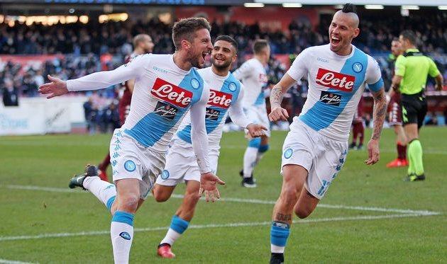 Наполи и Торино устроили голевую феерию