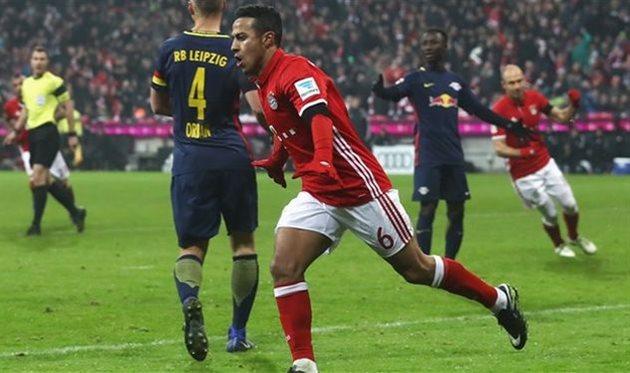 Бавария уверенно разобралась с РБ Лейпциг