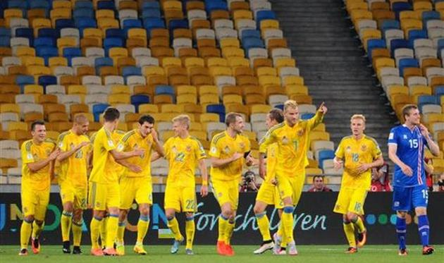 Рейтинг ФИФА: Украина опустилась на 30-е место