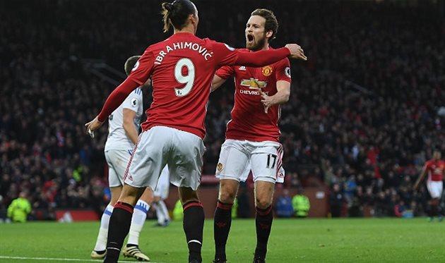 Сандерленд: изумительный гол Генриха Мхитаряна ударом скорпиона вматче Манчестер Юнайтед