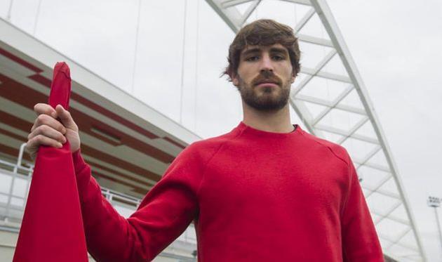 «Спасибо всем заподдержку»— Защитник «Атлетика» Альварес