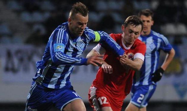 Максим Жичиков (справа), Фото Ильи Хохлова, Football.ua