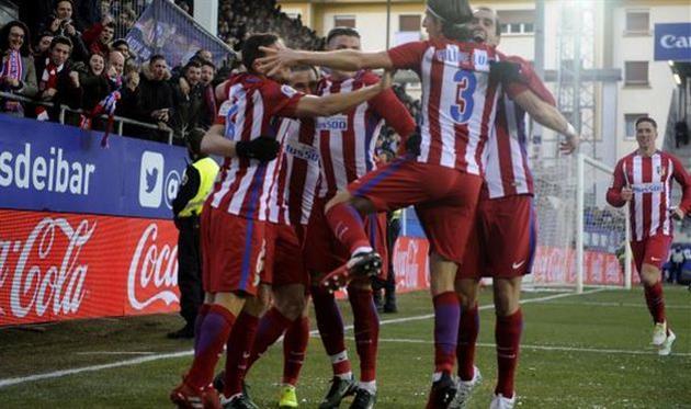 Атлетико на выезде переиграл Эйбар