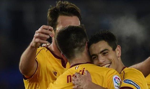 «Севилья» одолела «Реал Сосьедад» иобошла «Барселону» втаблице Примеры