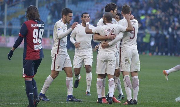 Серия А. Рома минимально одолела Дженоа