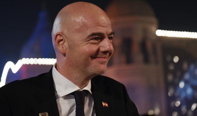 Джанни Инфантино, AFP