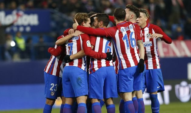 Атлетико Мадрид — первый четвертьфиналист