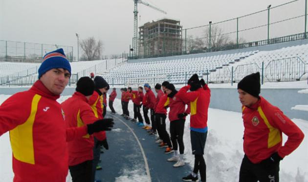 первая тренировка зирки в 2017-м, фото: оф.сайт клуба