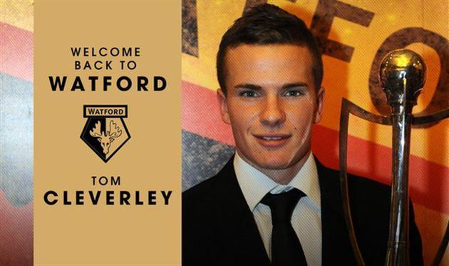 Уотфорд арендовал Клеверли с правом выкупа