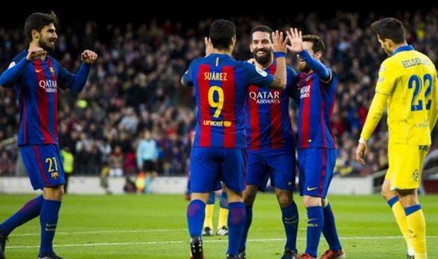 Барселона дома не оставила шансов Лас Пальмасу